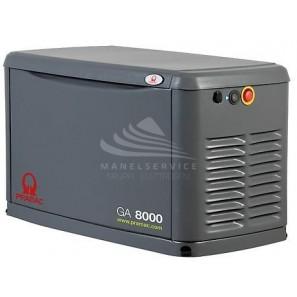 PRAMAC GA8000 8 KVA LIQUID PROPANE - 7 KVA NATURAL GAS