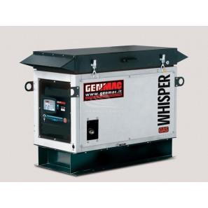 GENMAC Whisper-GAS RG10000KS NG SINGLE-PHASE 8.9 KVA NATURAL GAS