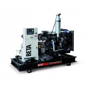 GENMAC BETA-GAS G30GO-NG THREE-PHASE 25 KVA NATURAL GAS - MECC ALTE ALTERNATOR