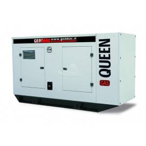 GENMAC QUEEN-GAS G40GS-NG THREE-PHASE 40 KVA NATURAL GAS - MECC ALTE ALTERNATOR