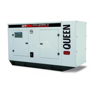 GENMAC QUEEN-GAS G60GS-LPG THREE-PHASE GENERATOR 61 KVA LPG GAS - MECC ALTE ALTERNATOR