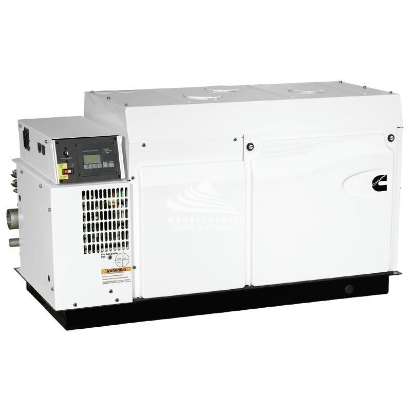 Cummins Onan Mdkdu Marine Generator Set 27 Kw Avr