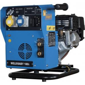 GENSET WELDBABY 180i - ENGINE DRIVEN WELDER 1 KVA INVERTER