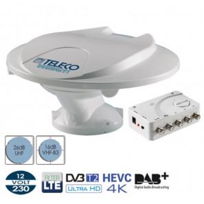TELECO TELAIR WING22 Antenna omnidirezionale 360° 12/24/230V