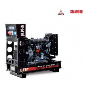 GENMAC ALPHA GU50DO Open Frame Genset 50 Kva 60 Hz