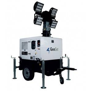 GENSET LT 5000 SS-Y - TORRE FARO LED 4.2 KVA