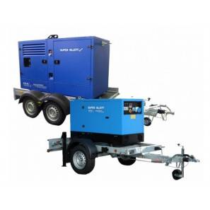 CGM CS1500 ROAD TRAILER FOR GENSETS 30 TO 60 KVA