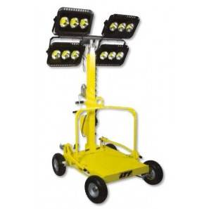 LTF RP600LED TORRE FARO MOBILE 4 LAMPADE LED 150W