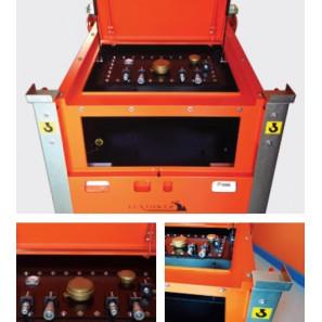 LUXTOWER CUBE TANK 3 - Serbatoio da 3000 Litri Impilabile e collegabile ad una pompa per trasferire il carburante