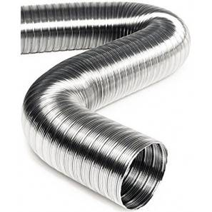 GENMAC FLEXIBLE STAINLESS STEEL DRAIN HOSE DIAM. 30