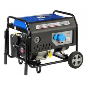 AXO AEG 5001M Single Phase Petrol Avr Generator 5 Kva 4 KW