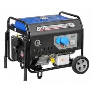 AXO AEGE 6501M Single Phase Petrol Avr Generator 6 Kva 4.8 KW