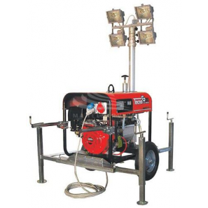 TECNOGEN LD7500TELX-TF Lighting Tower Electric Starter Genset