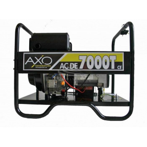 AXO ACDE 7000T generatore trifase 7 KVA