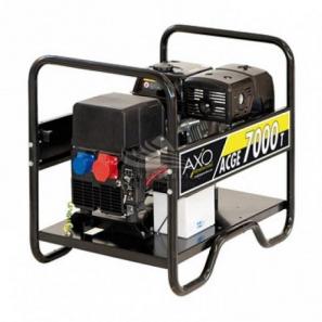 AXO ACGE 7000T Three Phase Petrol Compound Generator 7 KVA 5.6 KW