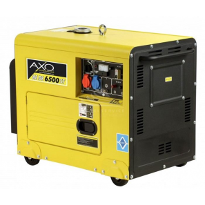 AXO AEDE 6500ST Silent Three Phase Diesel Generator 6 Kva 4.8 KW Avr